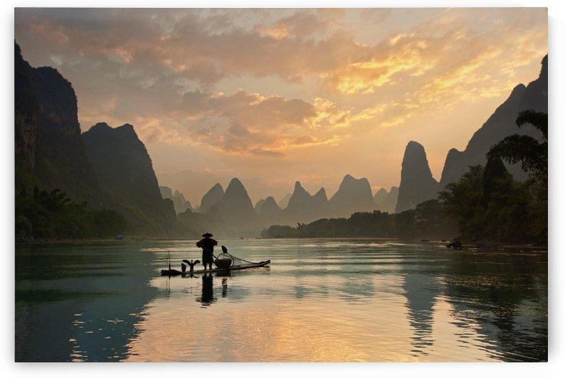 Golden Li River by 1x