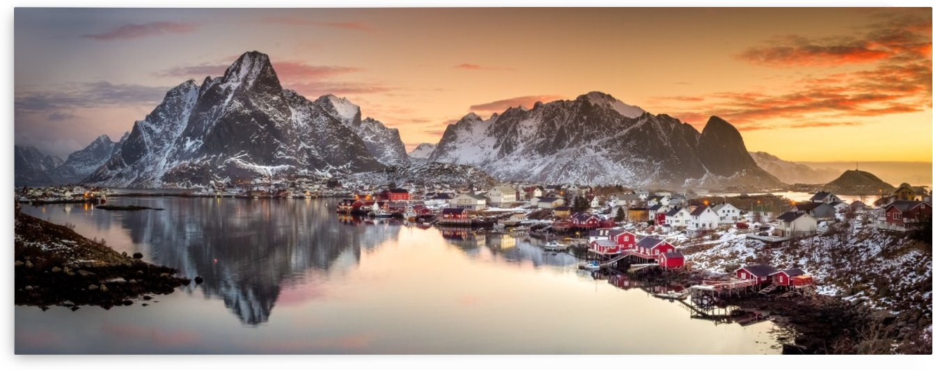 Reine Morning Light by 1x