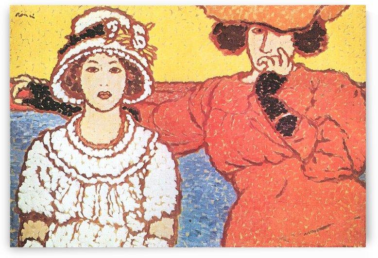 Lazarine and Anella by Joseph Rippl-Ronai by Joseph Rippl-Ronai
