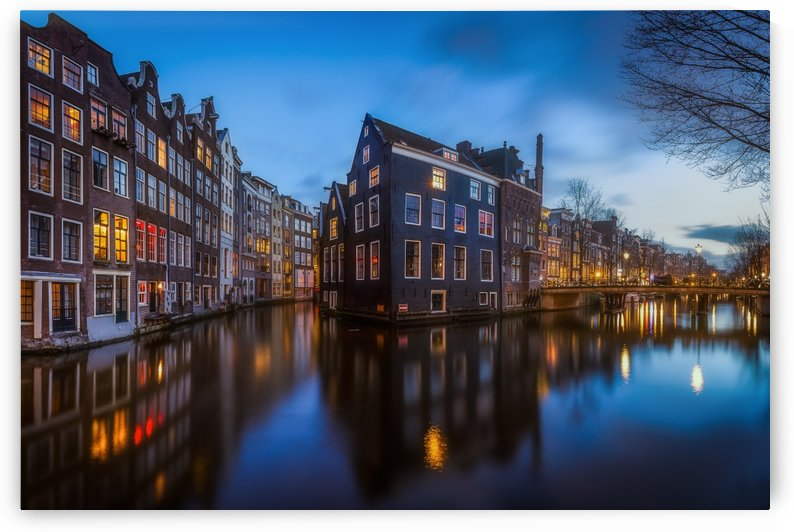 Blue Amsterdam by 1x