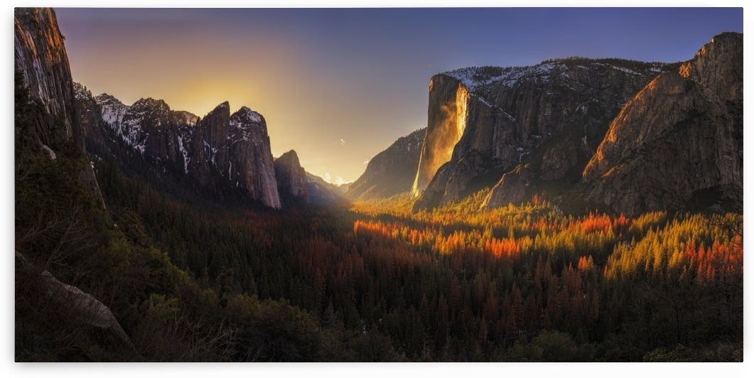 Yosemite Firefall by 1x
