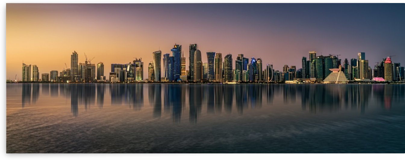 Doha reflections by 1x