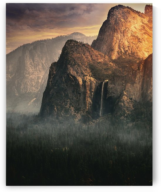Bridalveil fall, Yosemite by 1x
