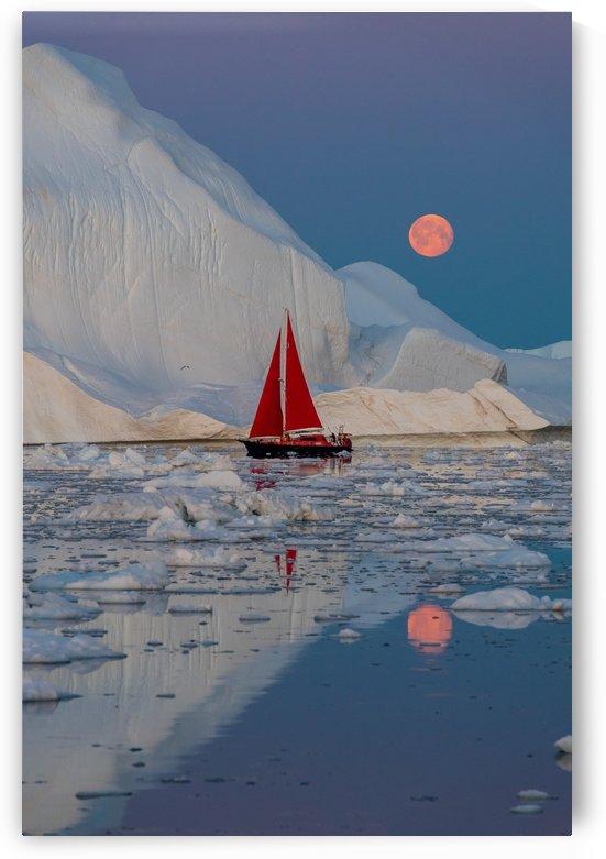 Greenland night by 1x