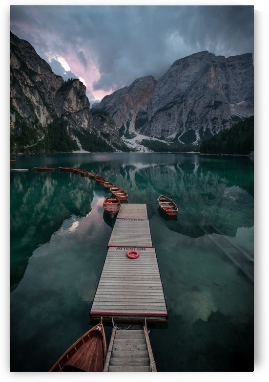 Braies reflections by 1x