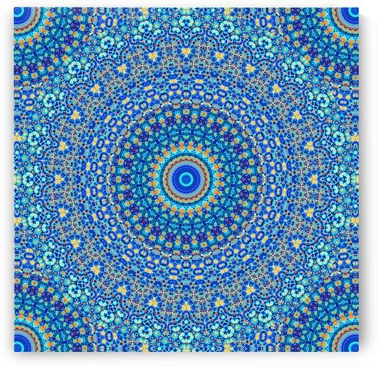 Mandala_5A by Art Design Works