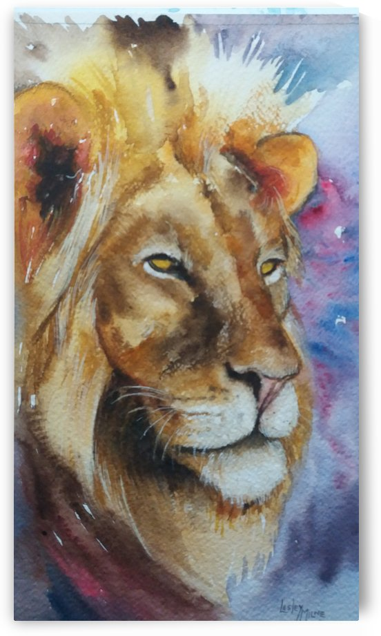 His Majesty by Lesley Milne