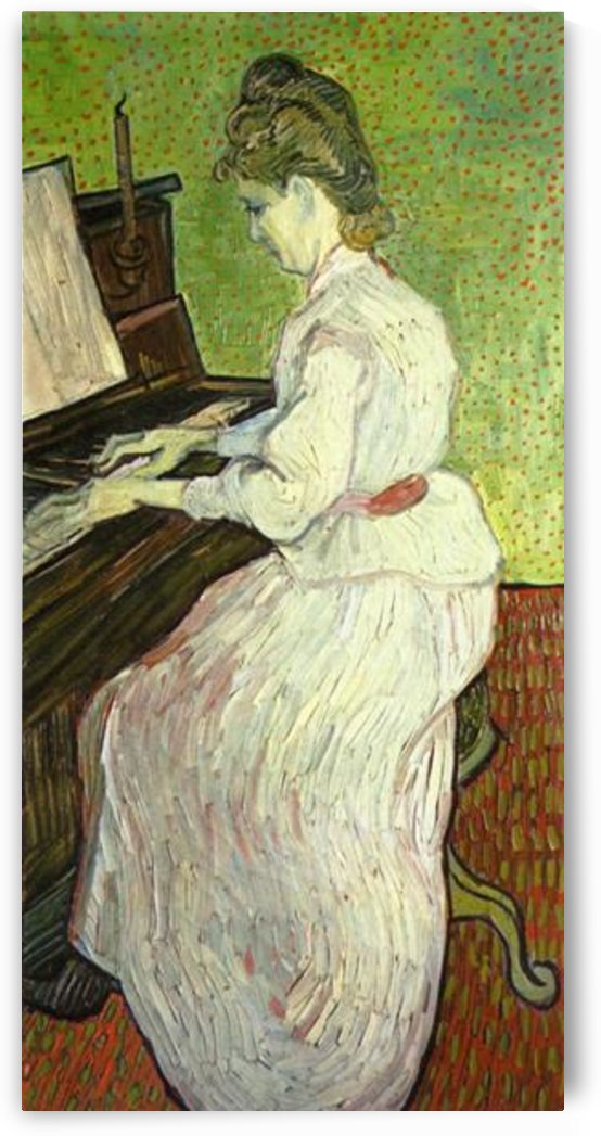 Mademoiselle Gachet at the Piano by