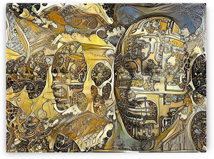 Surreal Faces by Bruce Rolff