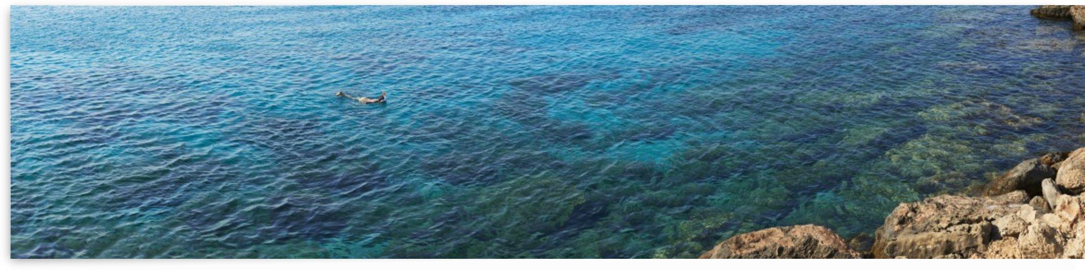 Snorkeling by Adrian Brockwell