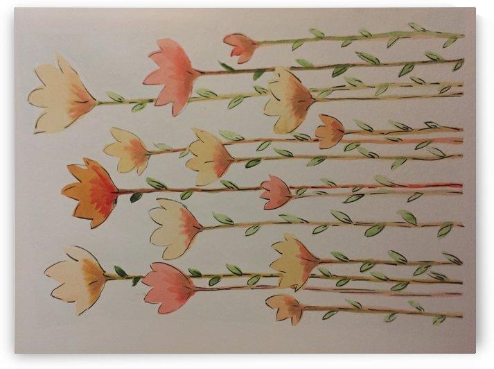 Calm Garden by Teresa Carlisle