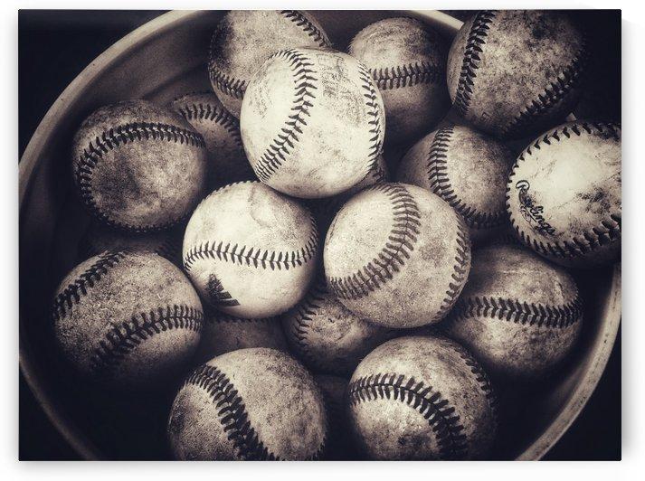 Bucket of Baseballs  by Leah McPhail