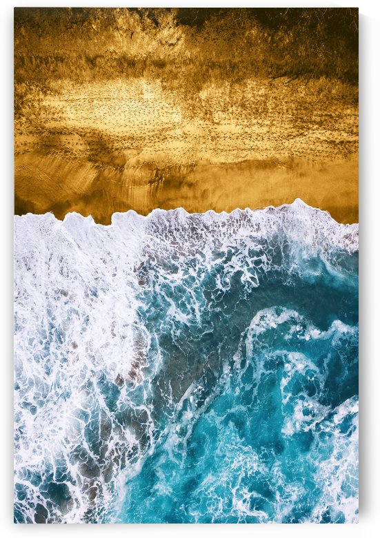 Tropical XVI - Golden Beach by Art Design Works