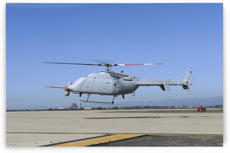 An MQ-8C Fire Scout unmanned aerial vehicle. by StocktrekImages