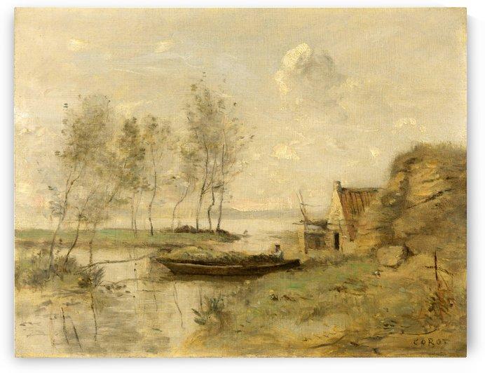 Souvenir of Palluel by Jean-Baptiste-Camille Corot