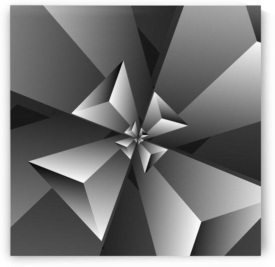 BlackishTrendy Triangle Pattern by rizu_designs