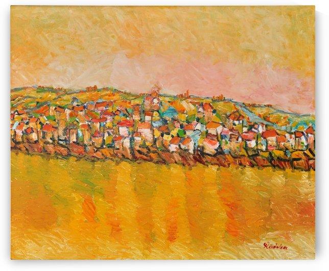 G110 SAT SARBESC PE MALUL DUNARII by Dan Marian Marian Radulea