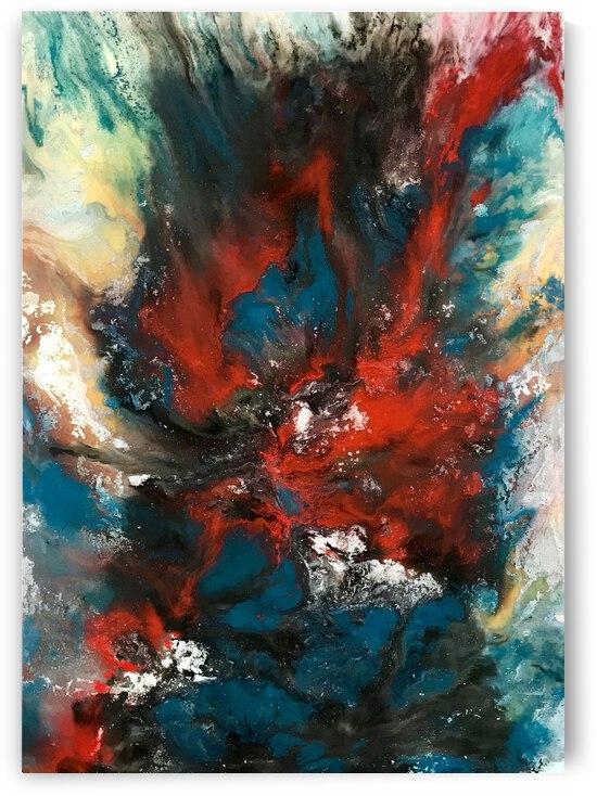Cobalt by Hannah Friel Art