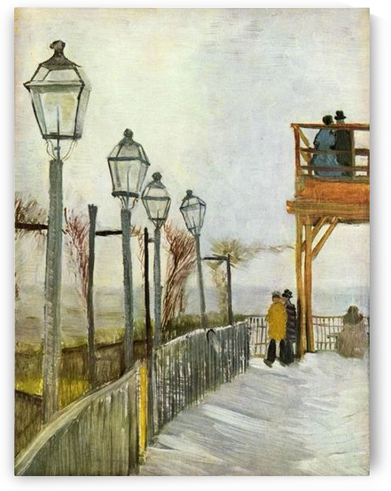 Montmartre in the upper Mill by Van Gogh by Van Gogh