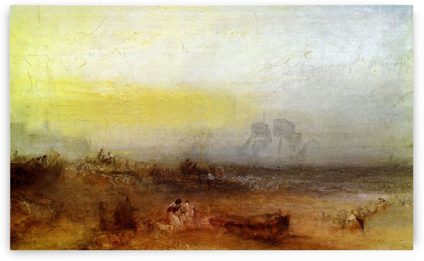 Morning after the wreck by Joseph Mallord Turner by Joseph Mallord Turner