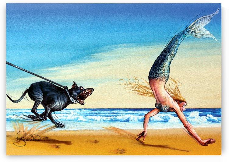 Mermaid by Krzysztof Grzondziel by Krzysztof Grzondziel