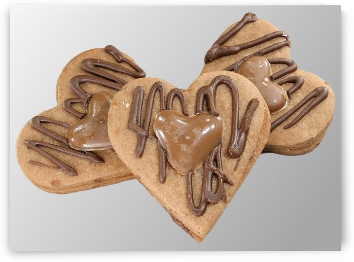 These Biscuits Melt Hearts baked by Anna Skelton by Edwin John