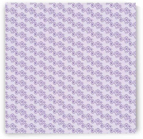 Purple Hand Art Design by rizu_designs