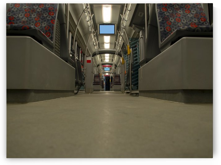 inside the tram perspective view by CiddiBiri