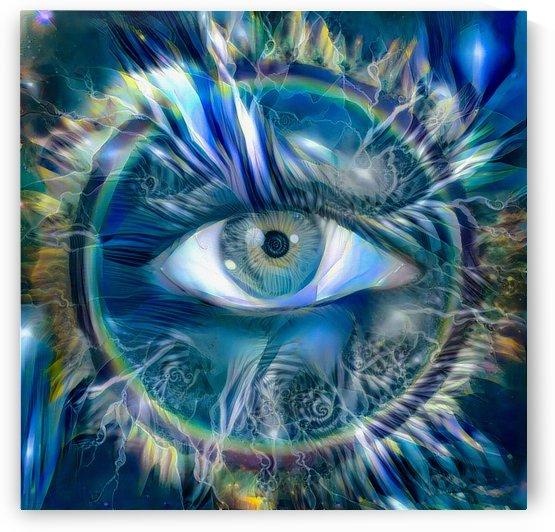 All seeing Eye by Bruce Rolff