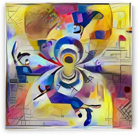 Modern Abstract by Bruce Rolff