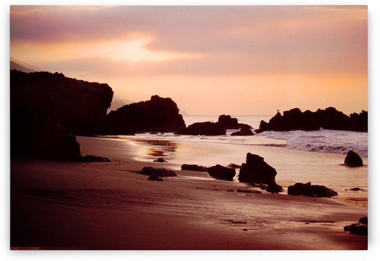 Leo Carrillo State Beach by Pamela Winter