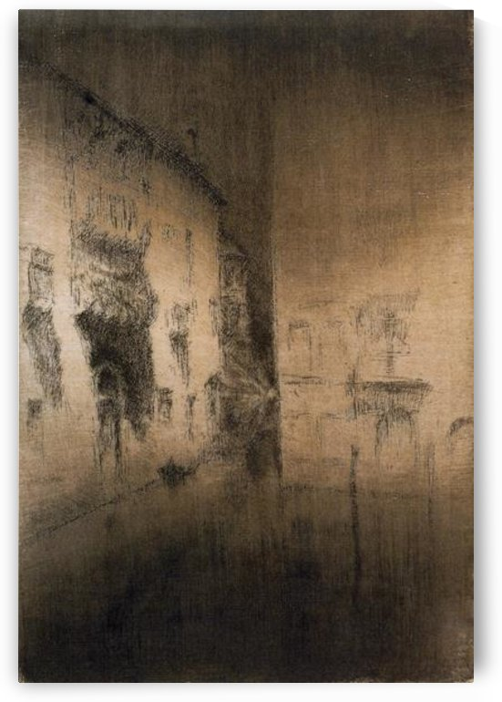 Nocturne Palaces by Whistler by Whistler