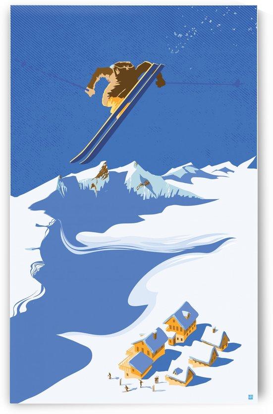 Sky Ski by Sassan Filsoof
