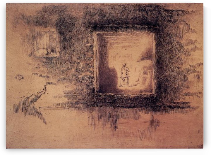 Nocturne, Furnace by Whistler by Whistler