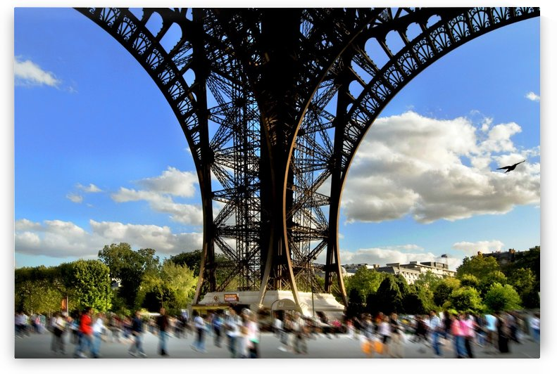 Life under the Eiffel Tower by Busybee-CR Photography