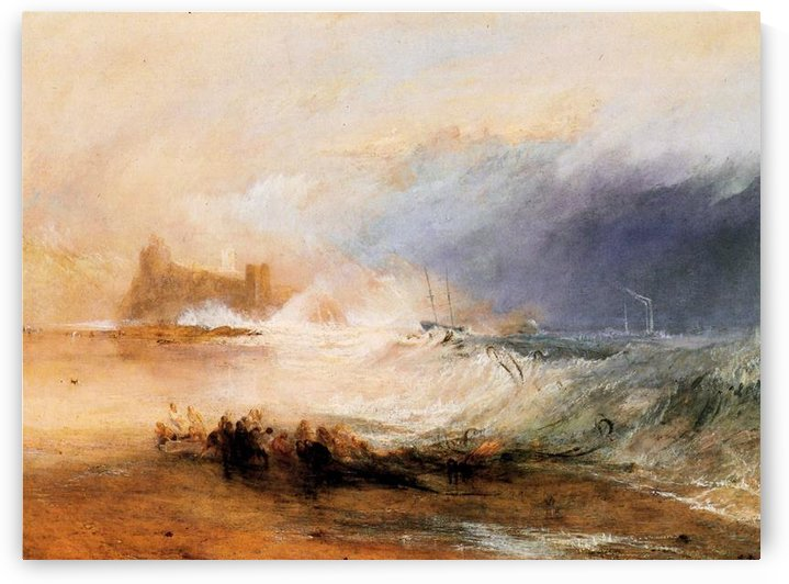 Northumberland shore by Joseph Mallord Turner by Joseph Mallord Turner