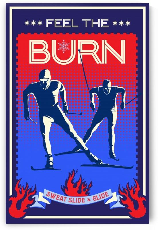 feel the burn nordic ski by Sassan Filsoof