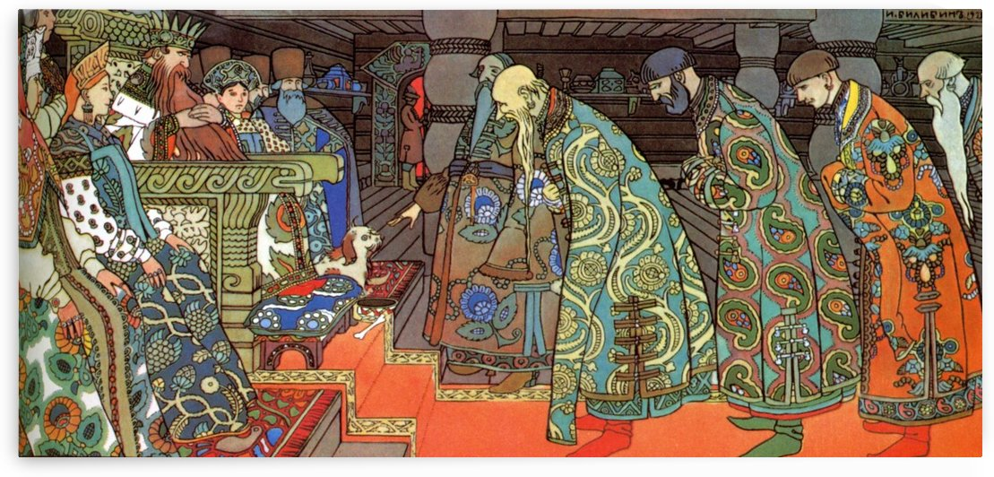 Saltan by Ivan Bilibin