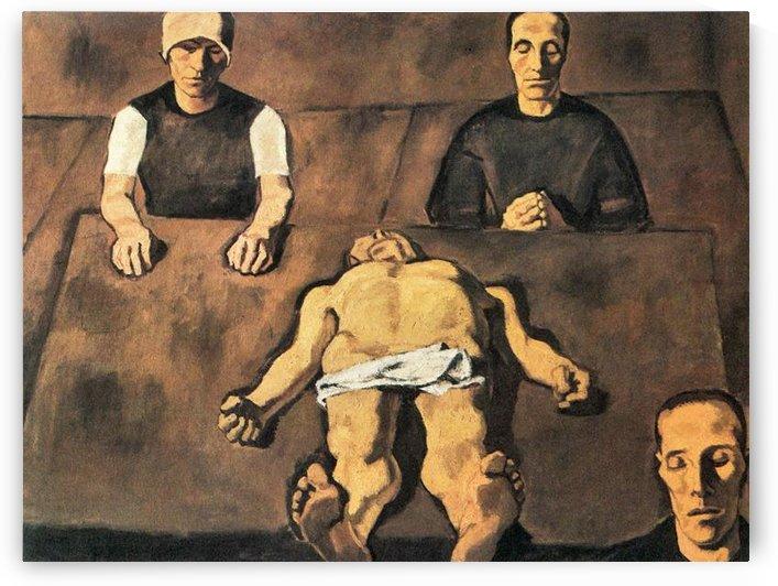 Piety by Albin Egger-Lienz by Albin Egger-Lienz