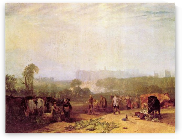 Plowing up turnips near Slough by Joseph Mallord Turner by Joseph Mallord Turner