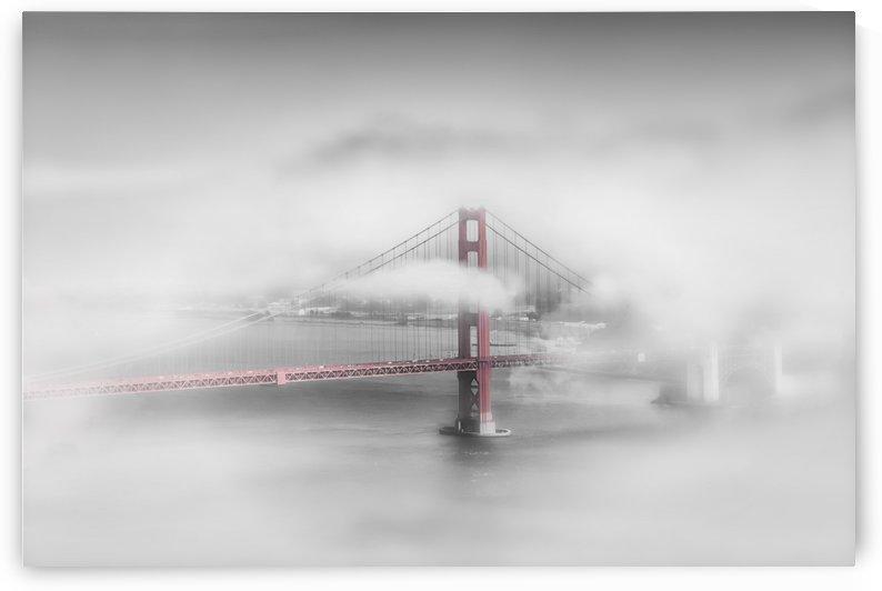Foggy Golden Gate Bridge | colorkey by Melanie Viola
