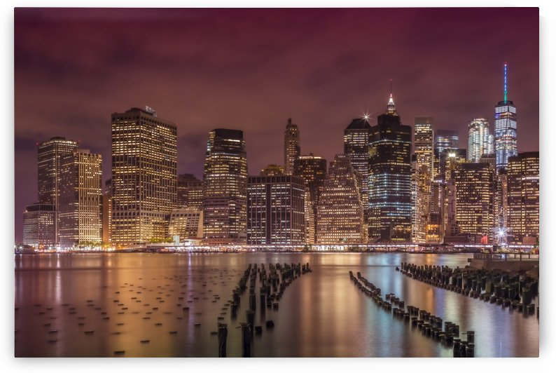 NEW YORK CITY Nightly Impressions  by Melanie Viola