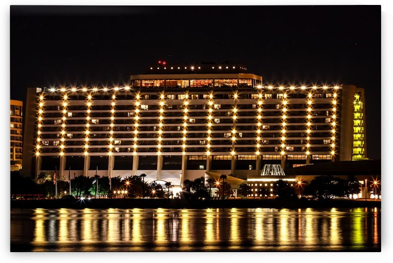 Disneys Contemporary Resort by Justin Pistone