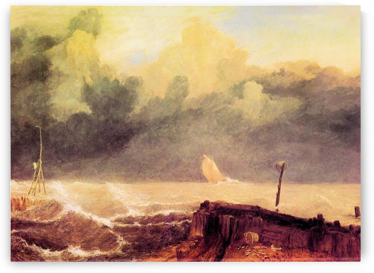 Port Ruysdael by Joseph Mallord Turner by Joseph Mallord Turner