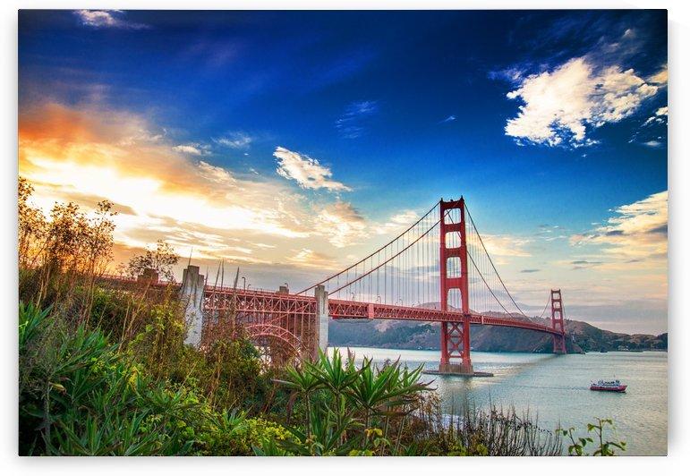 Golden Gate Bridge by Billy R. Johnson