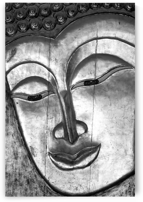 Silver Buddha by Kirsten Warner