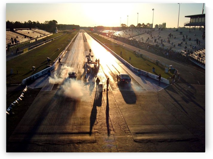 Dawn at the Drags by Deb Colombo