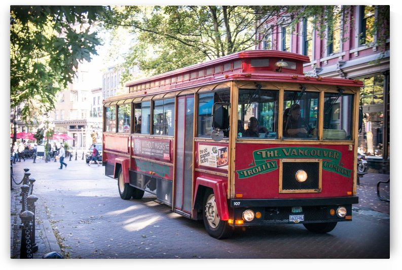 Vancouver Trolly by Billy Johnson