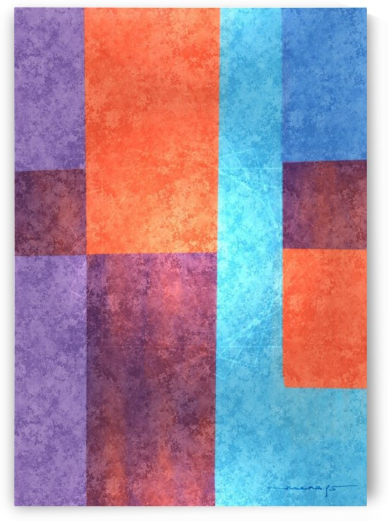 Abstract Geometric Space 3 by Neena
