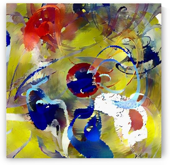 Creative Abstract Painting by Bruce Rolff